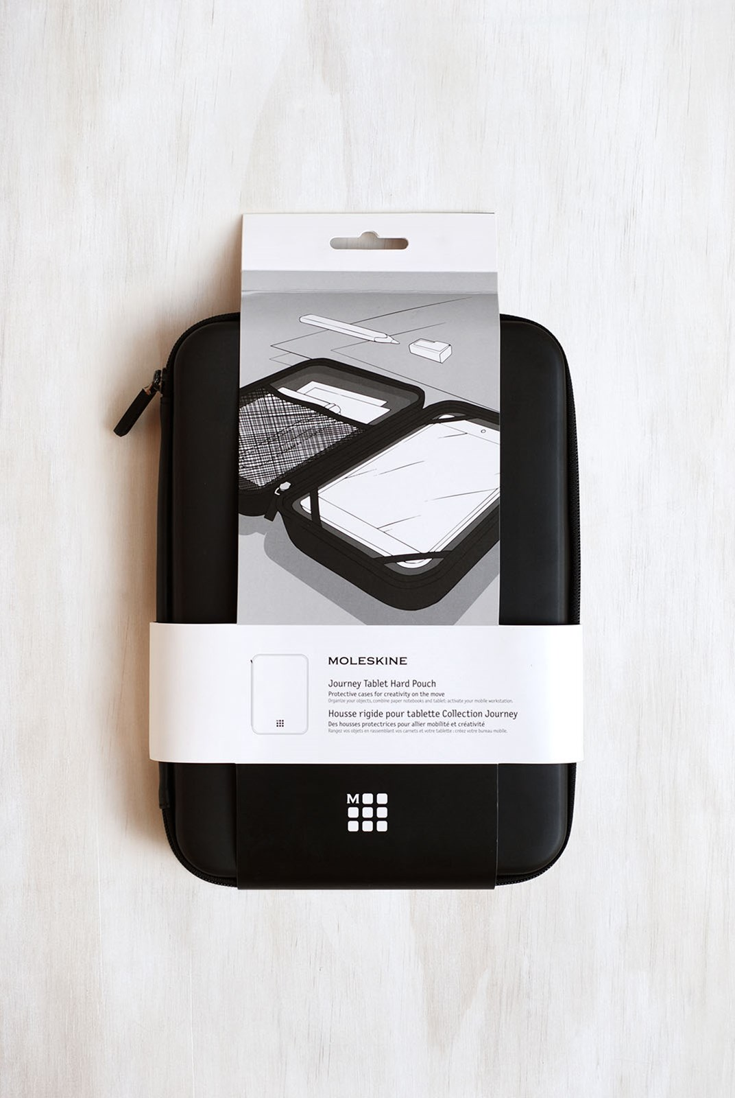 Moleskine - Journey Hard Pouch - Tablet - Black