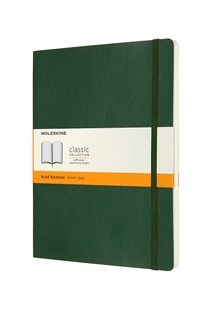 Moleskine - Classic Notebook RLD Extra LG Soft Cover MG - Notebooks & Journals Notebook - Ruled