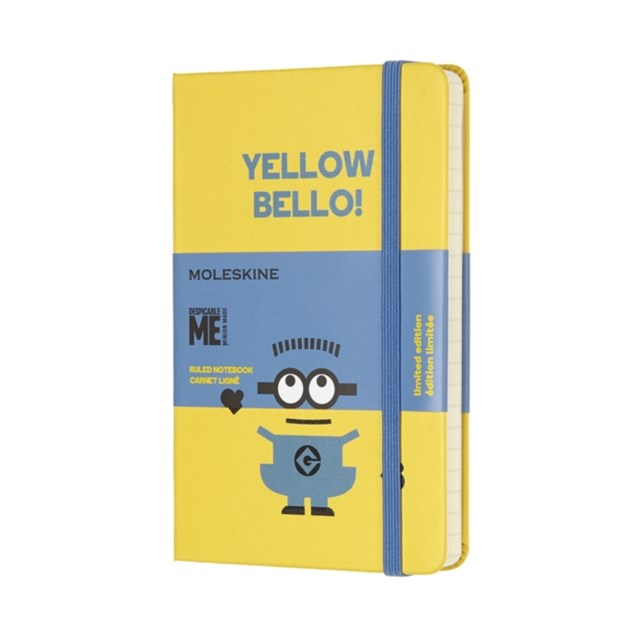 Moleskine - Limited Edition Minions Notebook - Ruled - Pocket - Sunflower Yellow