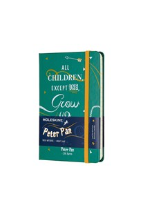 Moleskine - Limited Edition Peter Pan Notebook - Ruled - Pocket - Malachite Green - Notebooks & Journals Notebook - Ruled