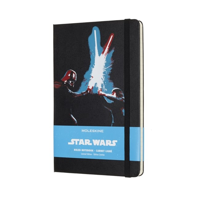 Moleskine - Limited Edition Star Wars Notebook - Ruled - Large - Lightsaber Duel