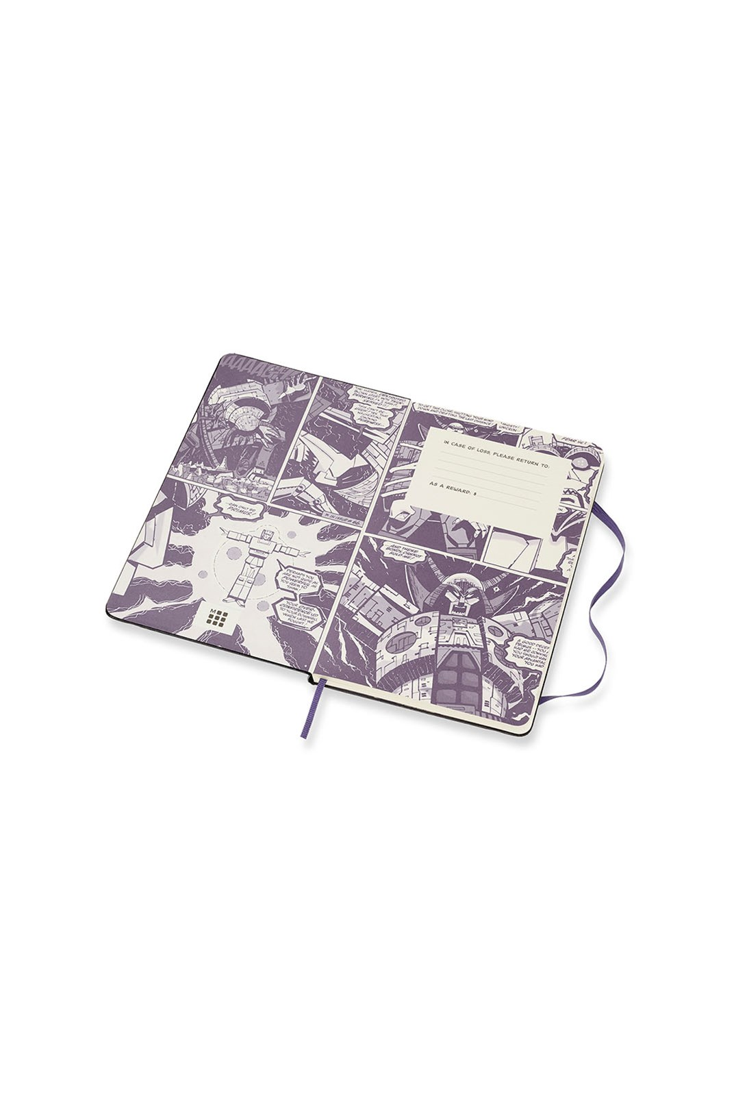 Moleskine - Limited Edition - Transformers Notebook - Ruled - Large - Megatron
