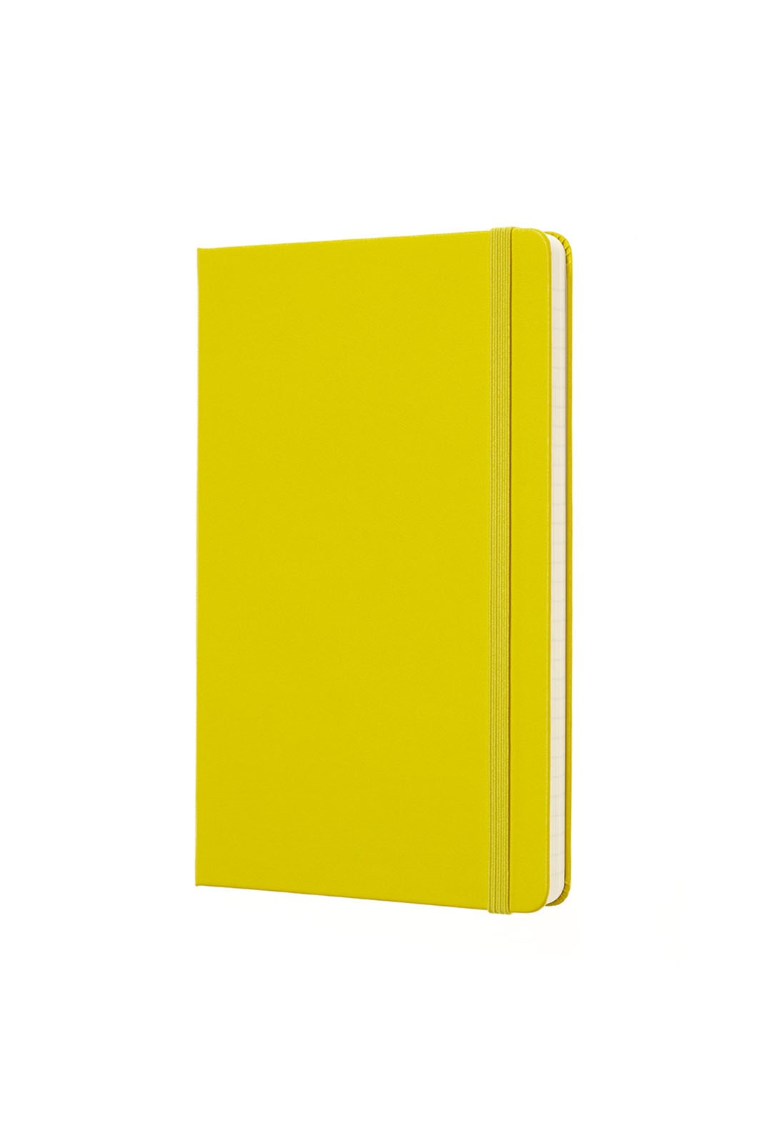 Moleskine - Classic Hard Cover Notebook - Ruled - Large - Dandelion Yellow