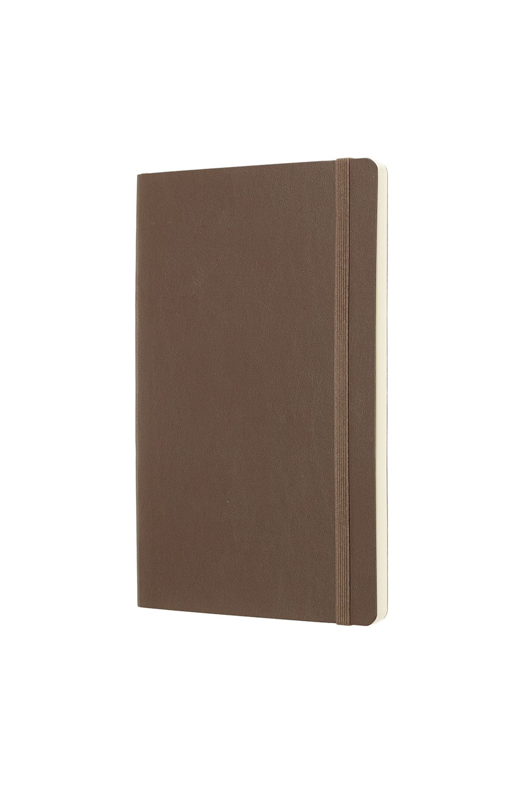 Moleskine - Classic Soft Cover Notebook - Plain - Large - Earth Brown
