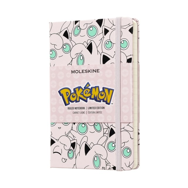 Moleskine - Limited Edition - Pokemon Notebook - Ruled - Pocket - Jigglypuff