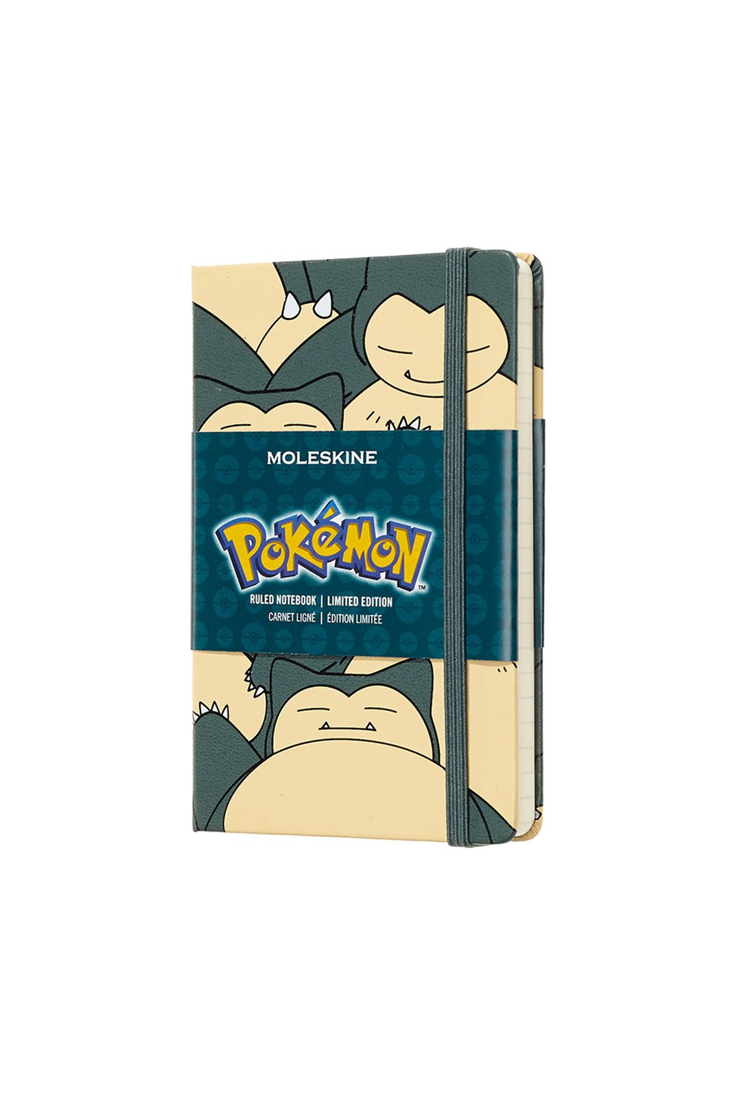 Moleskine - Limited Edition - Pokemon Notebook - Ruled - Pocket - Snorlax