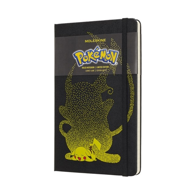 Moleskine - Limited Edition - Pokemon Notebook - Ruled - Large - Pikachu