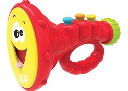 InfiniFun - First Tooth Trumpet - Children's Toys & Games Infant Toys