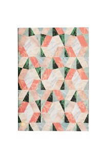 Marble Notes NB PLN B5 Coral - Notebooks & Journals
