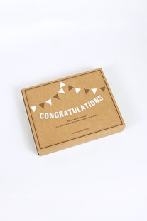 O-Check Design Graphics - Message Bunting - Congratulations