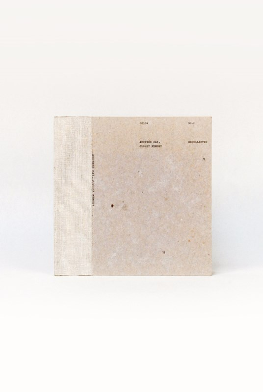 O-Check Design Graphics - Utility Notebook - Plain - Medium - Recycled Pages - Natural Grey