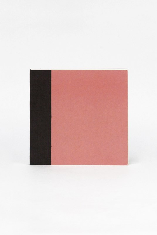O-Check Design Graphics - Utility Notebook - Plain - Small - Recycled Pages - Pink