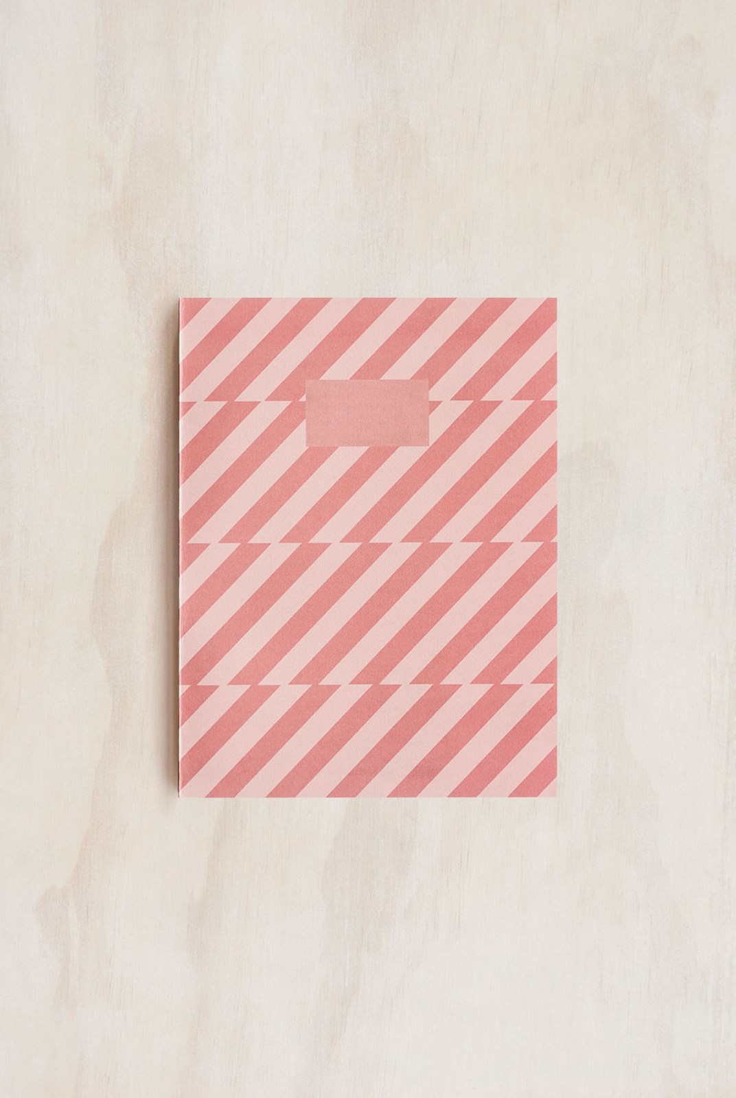 O-Check Design Graphics - Exercise Book - Ruled - Medium - Pattern Pink