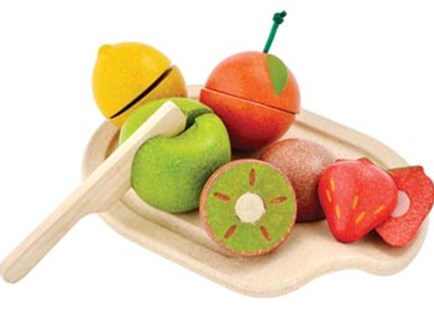 PlanToys - Assorted Fruit Set - Children's Toys & Games Dress Up & Role Play