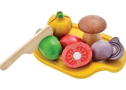PlanToys - Assorted Vegetable Set - Children's Toys & Games Dress Up & Role Play