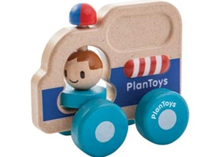 PlanToys - Rescue Car - Children's Toys & Games Vehicles