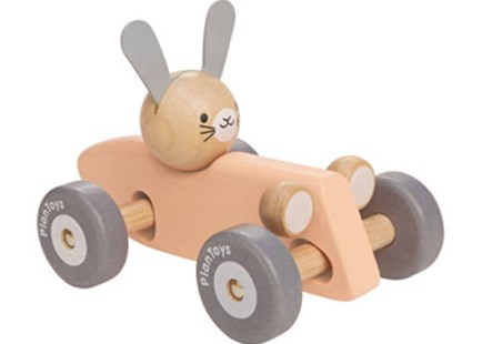 PlanToys - Bunny Racing Car - Children's Toys & Games Infant Toys