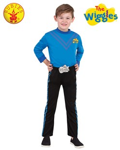 Size 3-5 Anthony Wiggle Deluxe Costume (Blue) by  (9312853073164) - Clothing - Clothing
