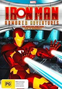 Iron Man Armored Adventures: The Makluan Ring Saga - Rise to Supremacy - Film & TV Children & Family