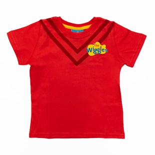 (Size 4) The Wiggles Red Kids T-Shirt - Clothing