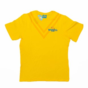 Wiggles Yellow Tee M Adult - Clothing