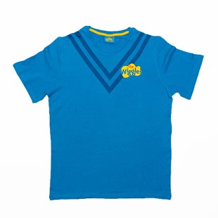 Wiggles Blue Tee L Adult - Clothing