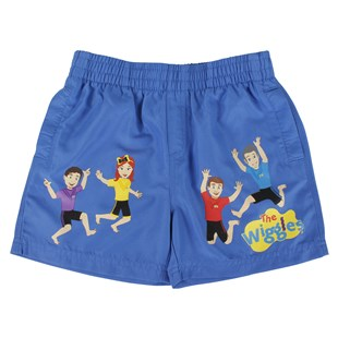 Wiggles Blue Size 5 Kids Shorts - Clothing