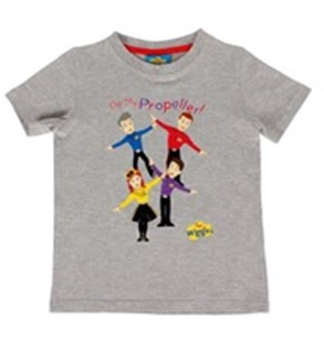 The Wiggles Propellor Printed Tee Size 2 - Clothing