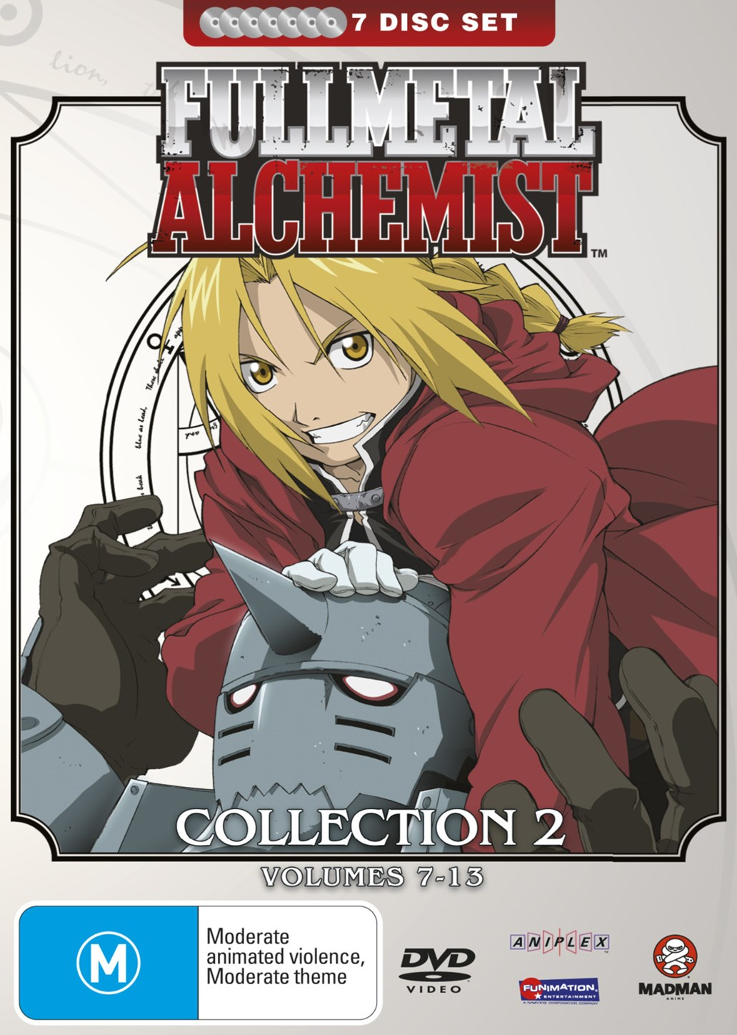 Fullmetal Alchemist Collection 2 (V7-13) (Fatpack)