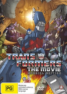Transformers: The Animated Movie - Special Edition (2 Disc Set) - Film & TV Children & Family