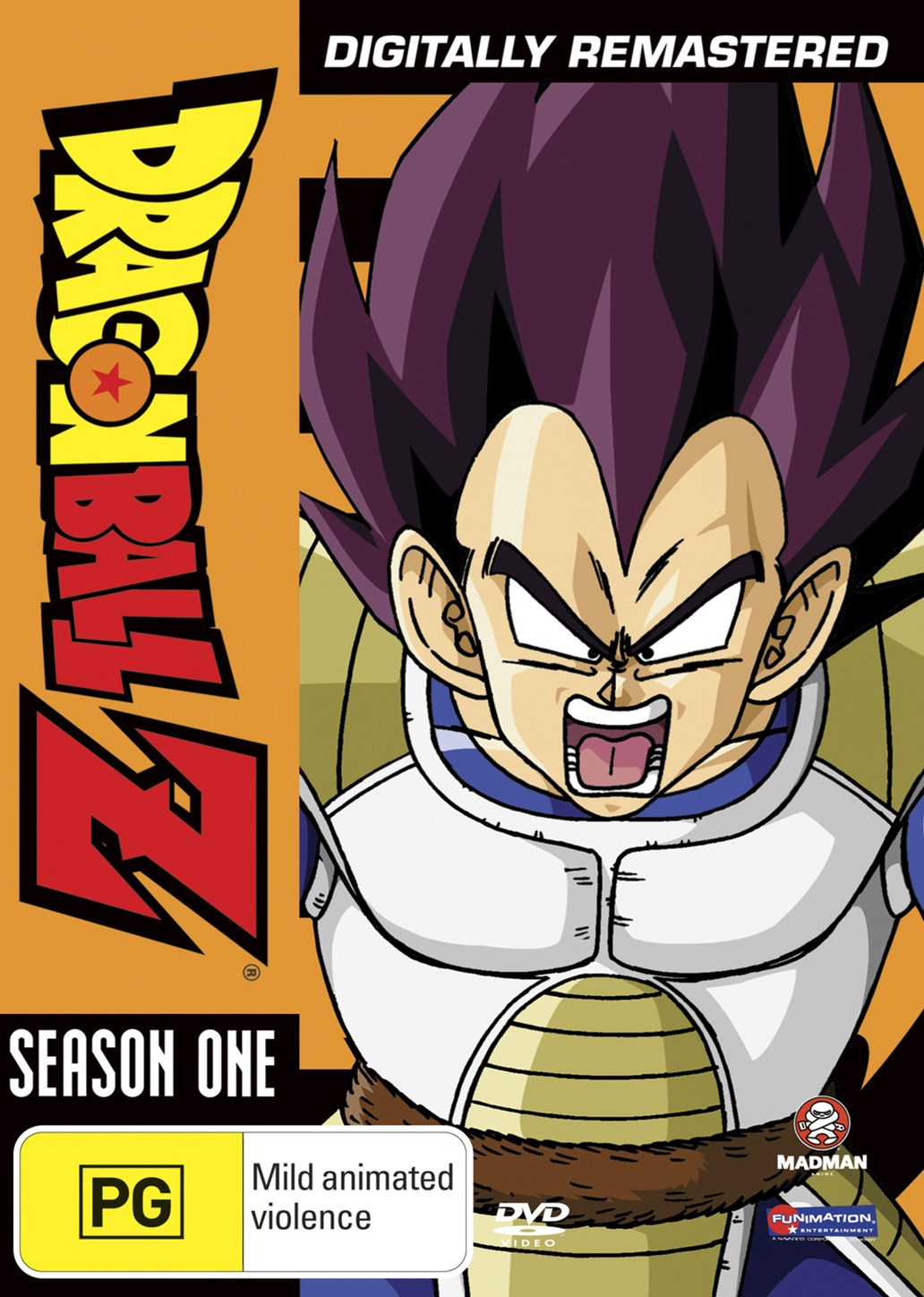 Dragon Ball Z Remastered Uncut Season 1 (Eps 1-39) (Fatpack)