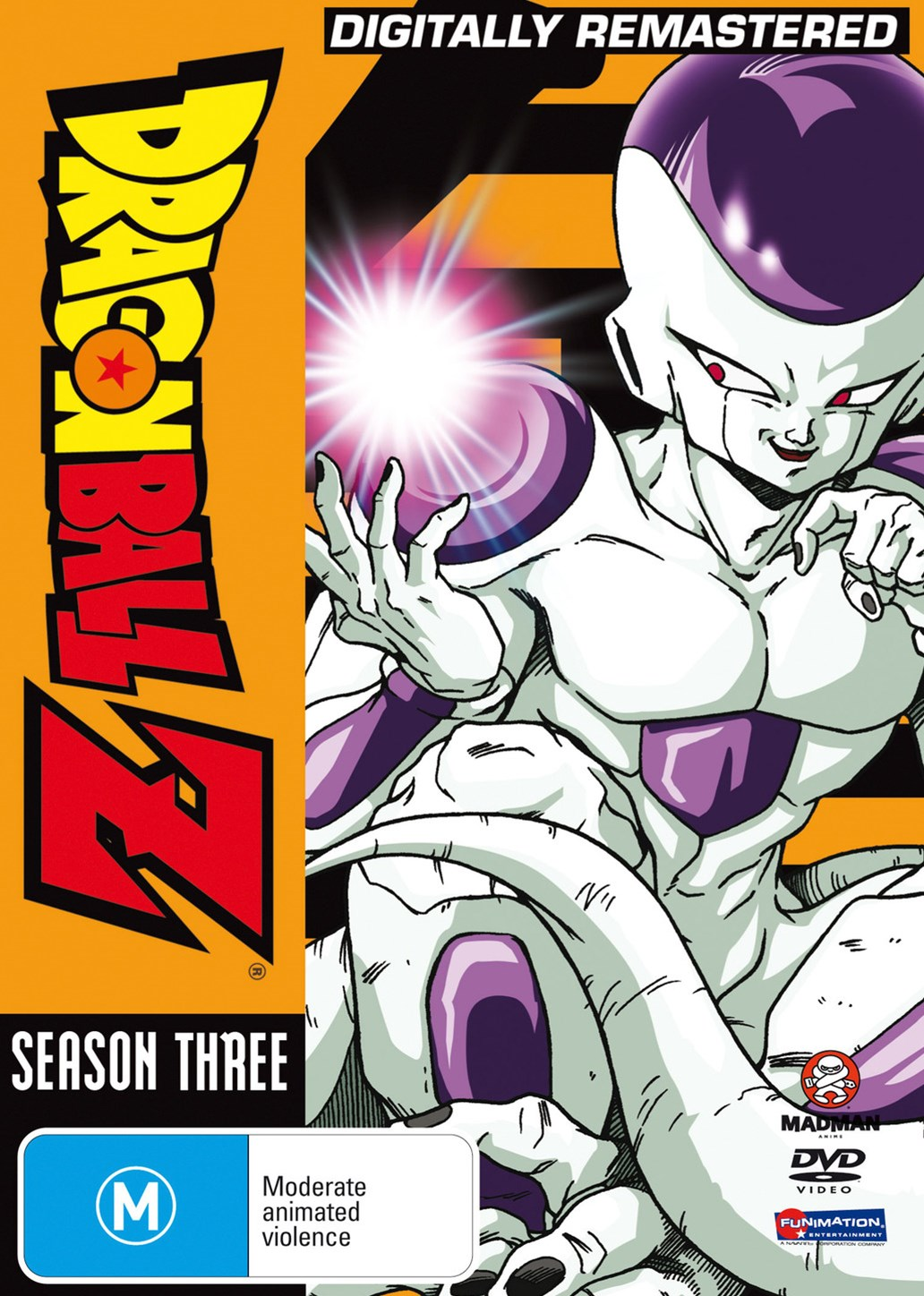 Dragon Ball Z Remastered Uncut Season 3 (Eps 75-107) (Fatpack)