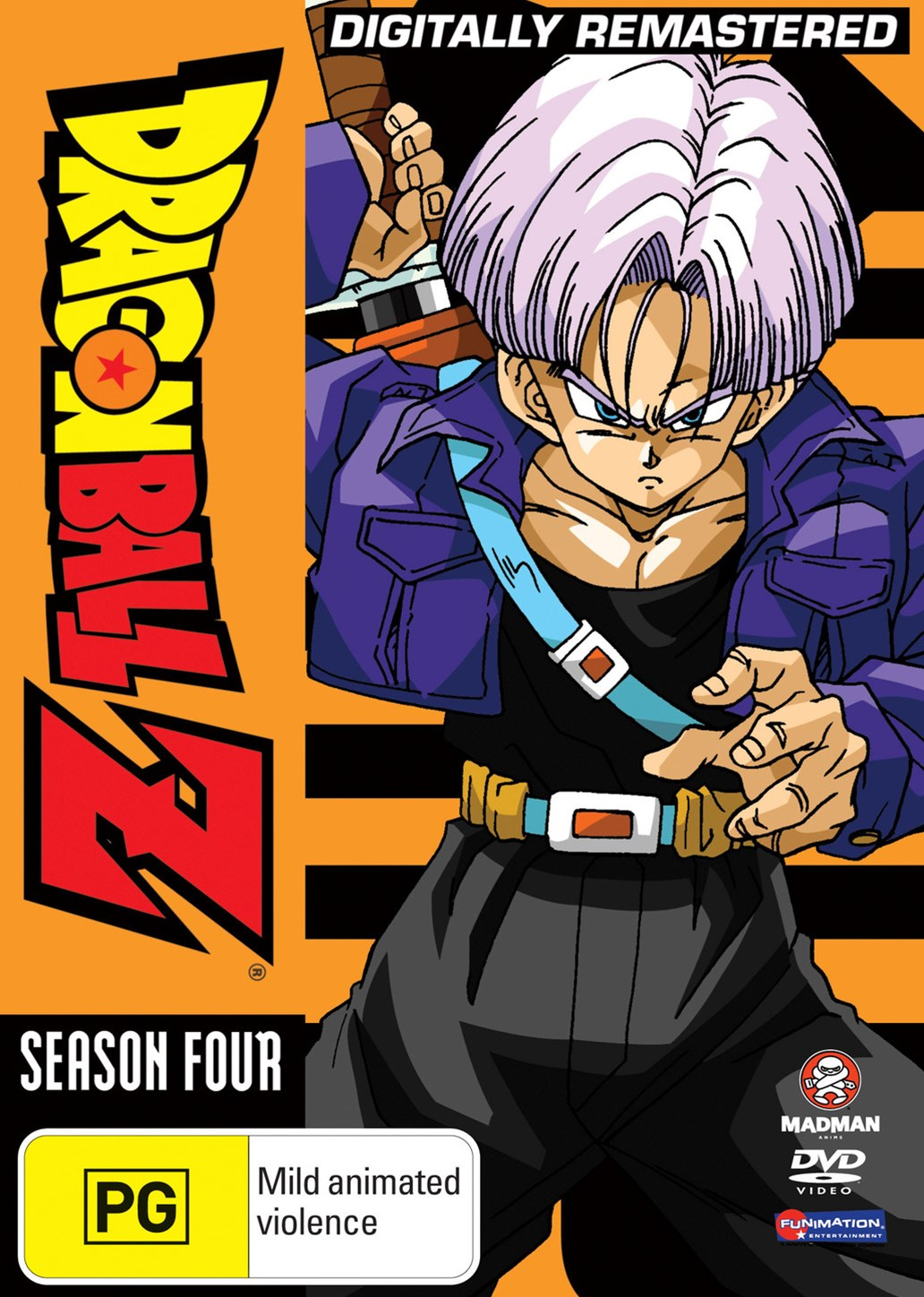 Dragon Ball Z Remastered Uncut Season 4 (Eps 108-139) (Fatpack)