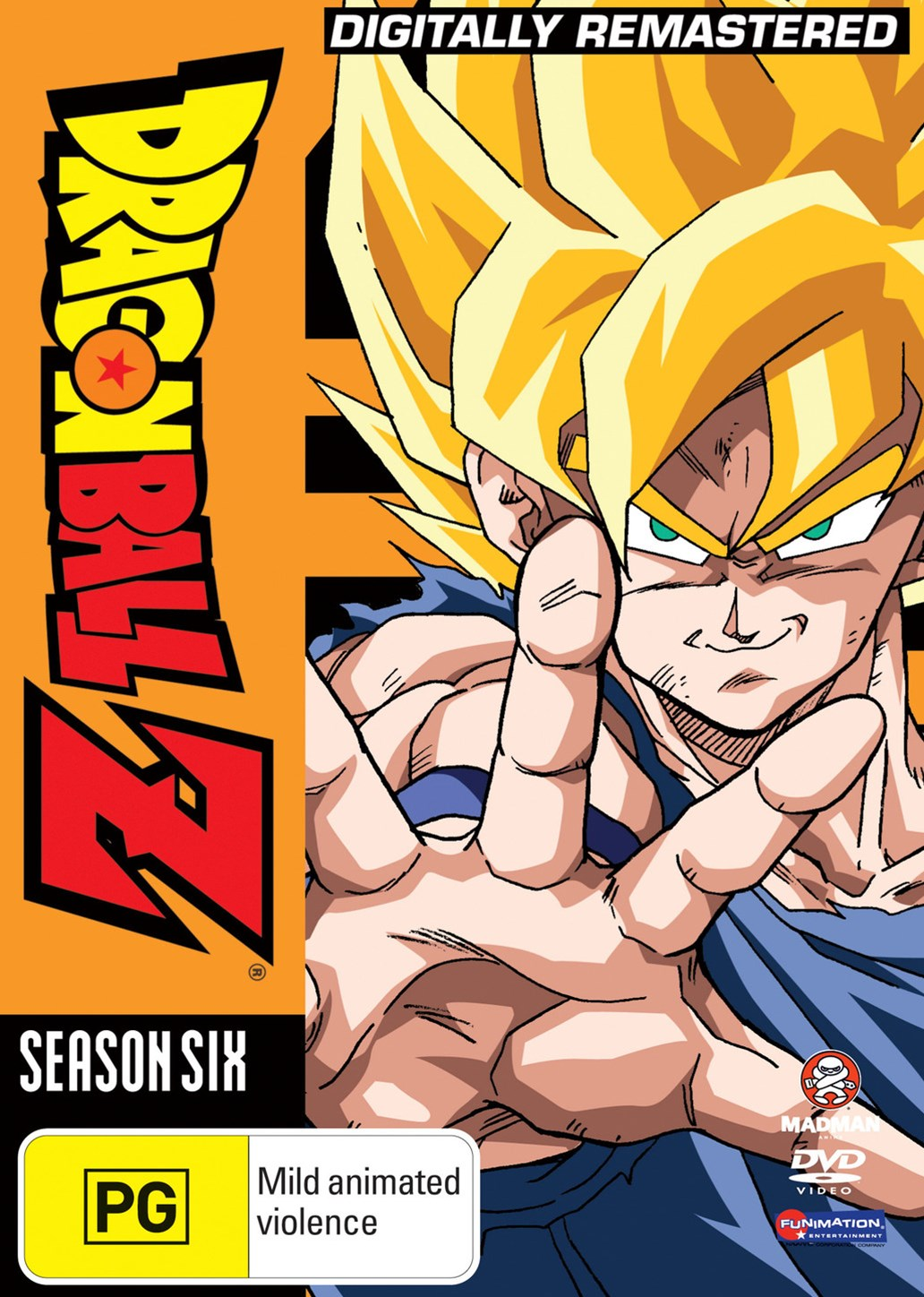 Dragon Ball Z Remastered Uncut Season 6 (Eps 166-194) (Fatpack)