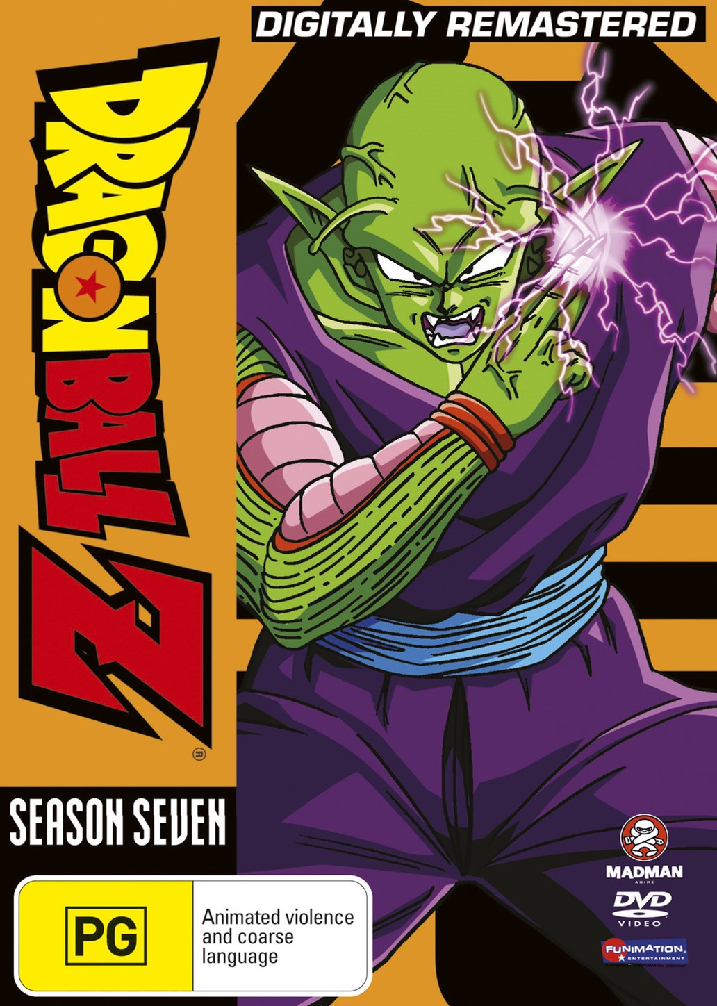 Dragon Ball Z Remastered Uncut Season 7 (Eps 195-219) (Fatpack)