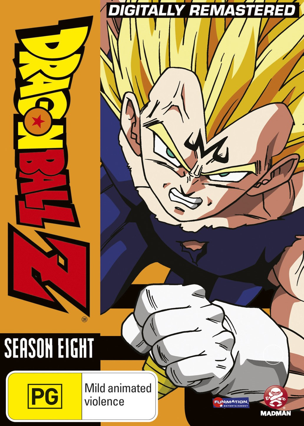 Dragon Ball Z Remastered Uncut Season 8 (Eps 220-253) (Fatpack)