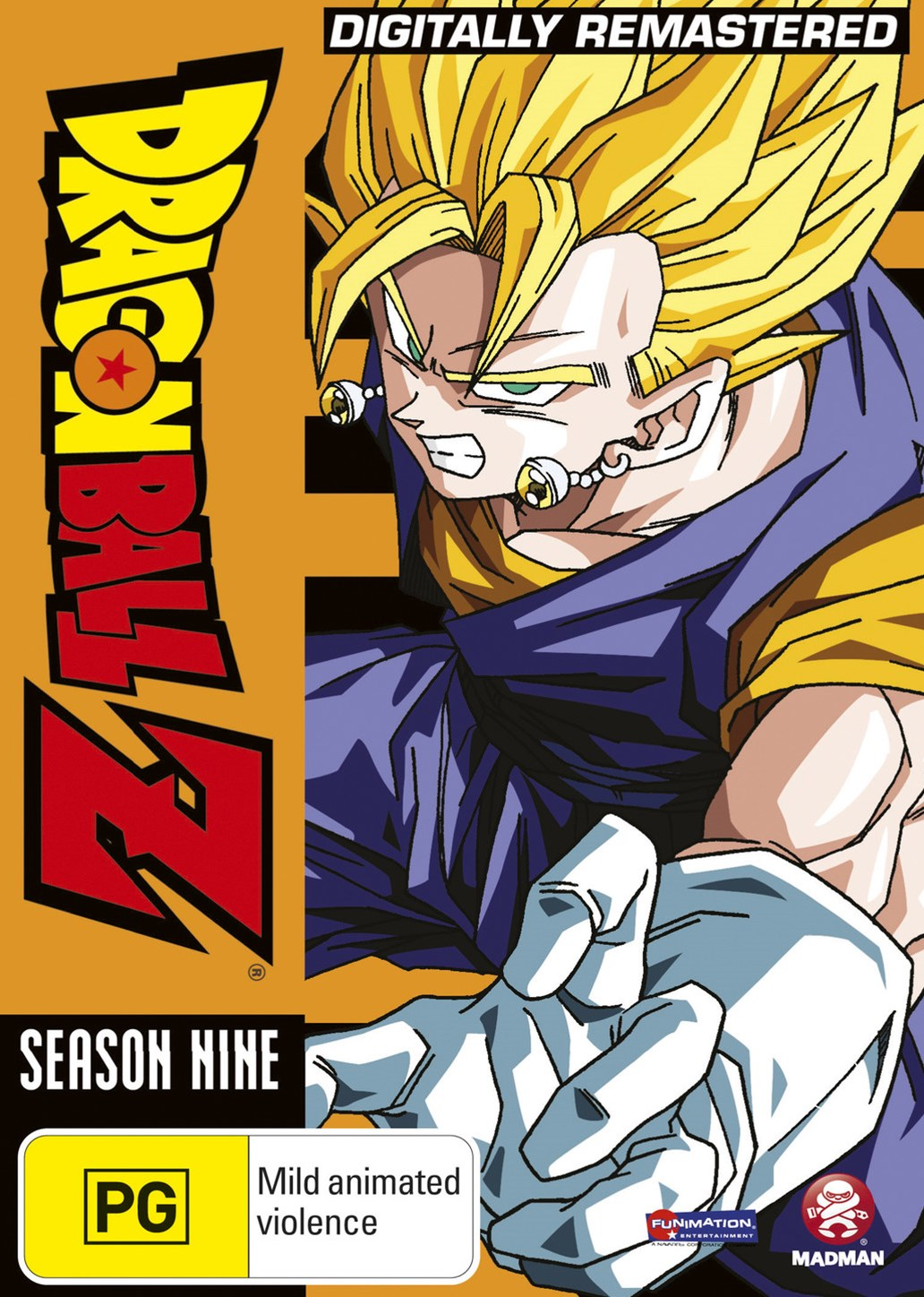 Dragon Ball Z Remastered Uncut Season 9 (Eps 254-291) (Fatpack)