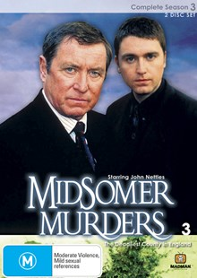 Midsomer Murders Season 3 (Single Case 2 DVD) - Film & TV Thriller