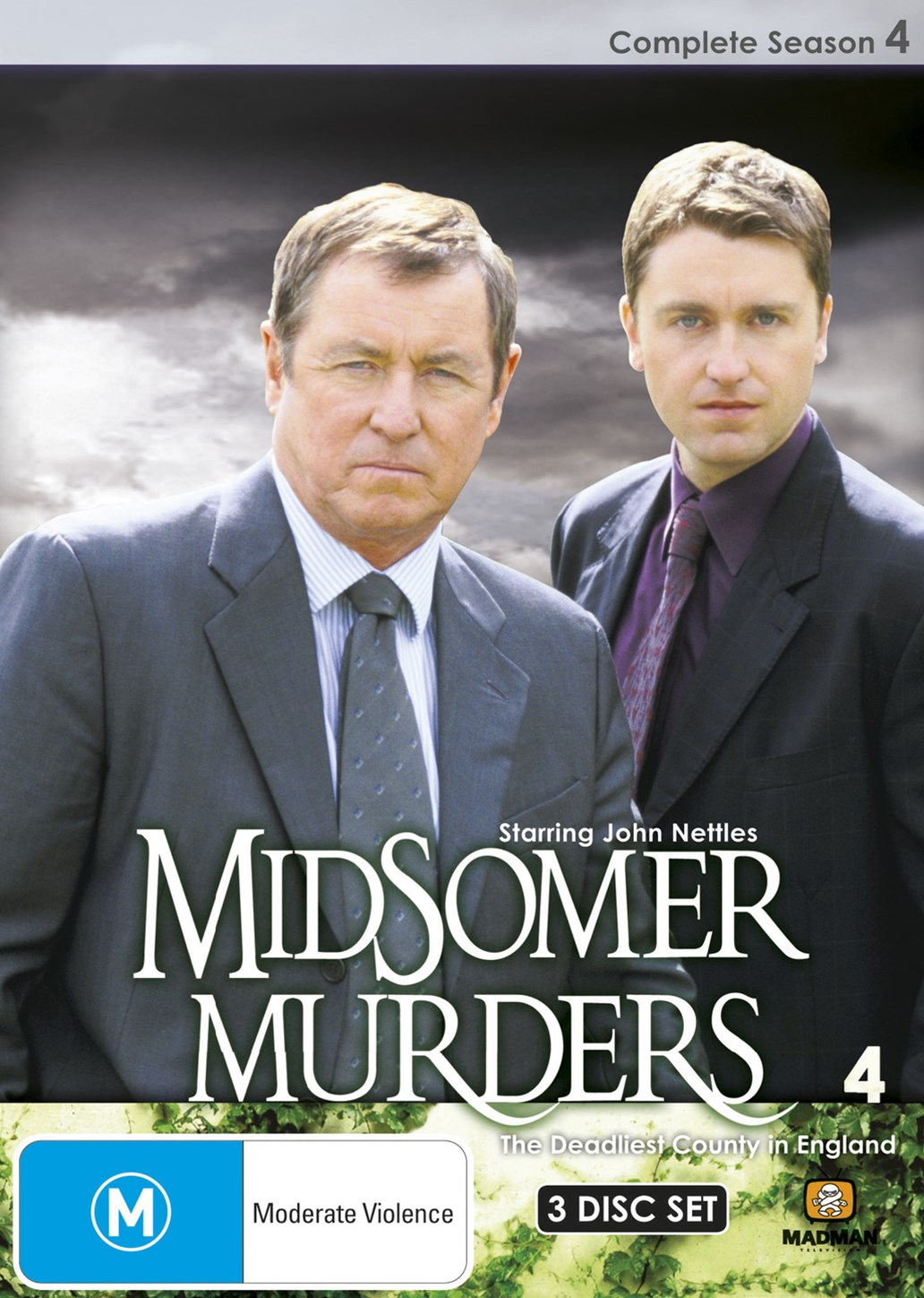 Midsomer Murders Season 4 (Single Case 3 DVD)