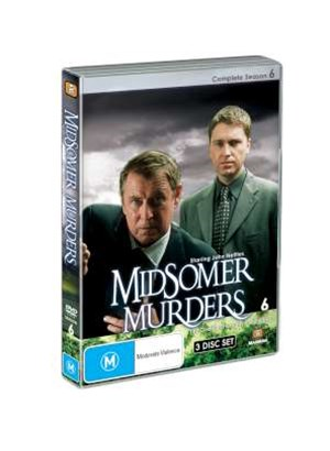 Midsomer Murders Season 6 (Single Case 3 DVD)