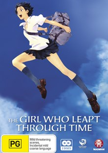 The Girl Who Leapt Through Time (2 Discs) - Film & TV Animated