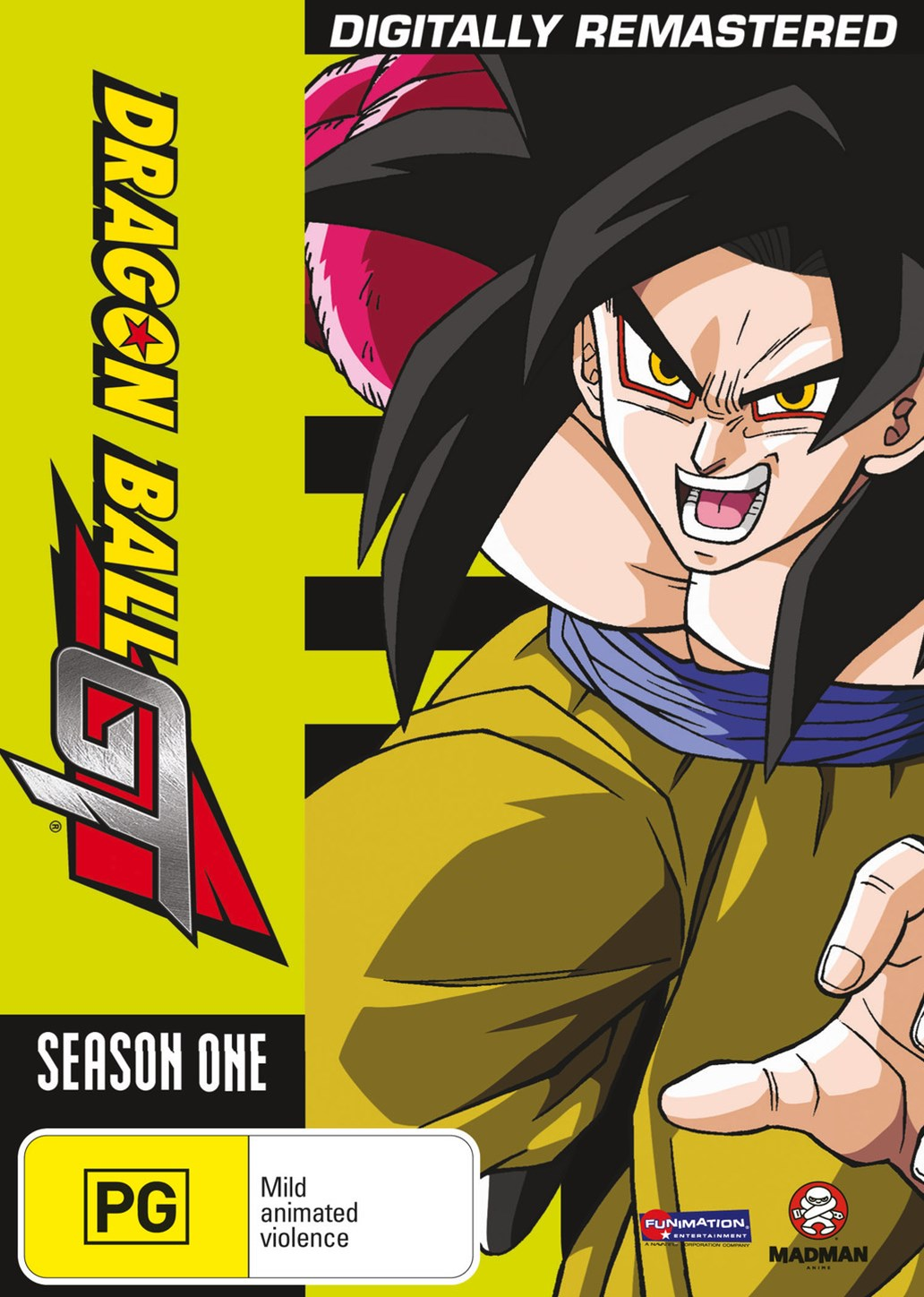 Dragon Ball GT Remastered Uncut Season 1