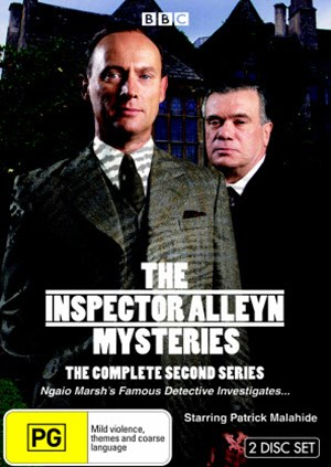 The Inspector Alleyn Mysteries - The Complete Second Series (2 DVD Set)