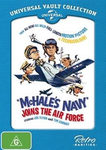 Mchale's Navy Joins the Air Force (1965) (Universal Vault) - Film & TV Drama