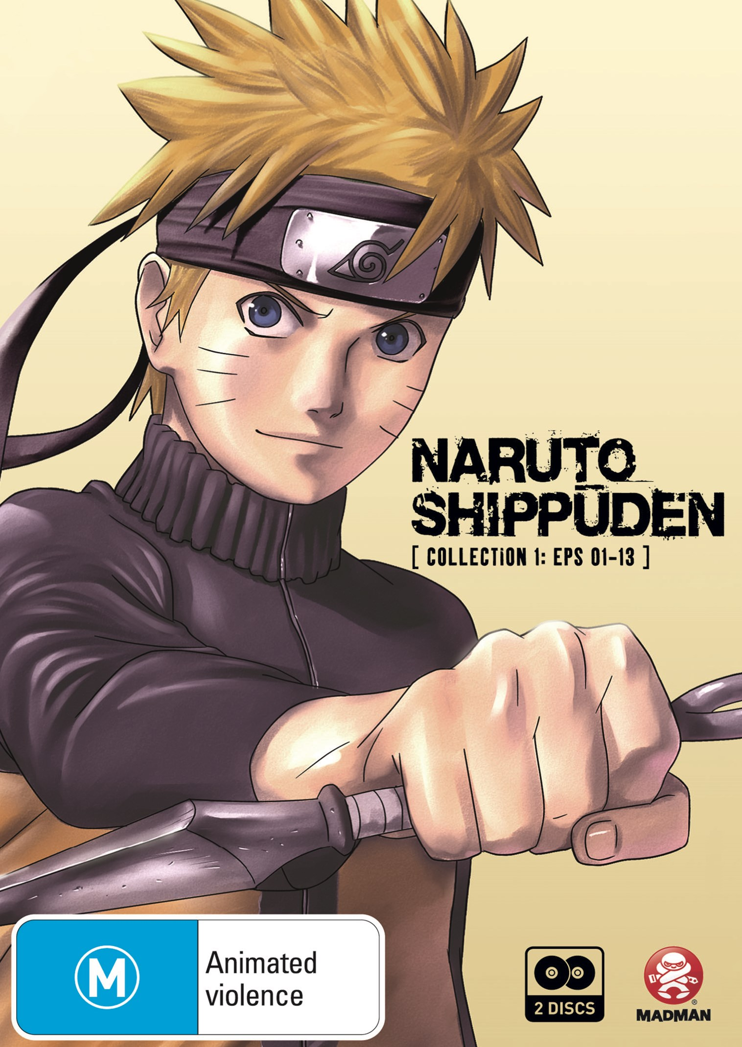 Naruto Shippuden: Collection 1 (Eps 1 to 13)