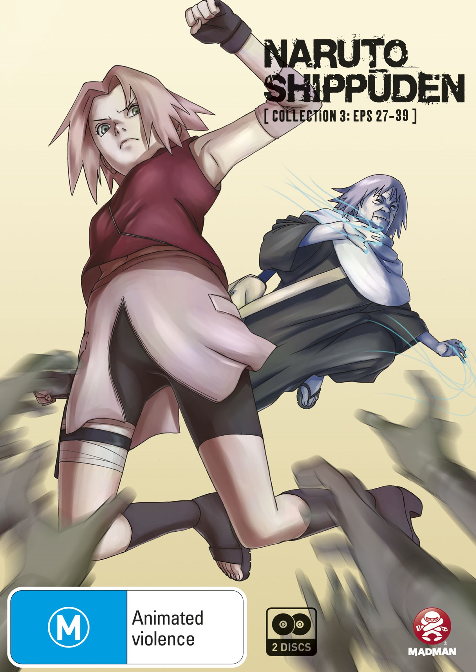 Naruto Shippuden: Collection 3 - Episodes 27 to 39