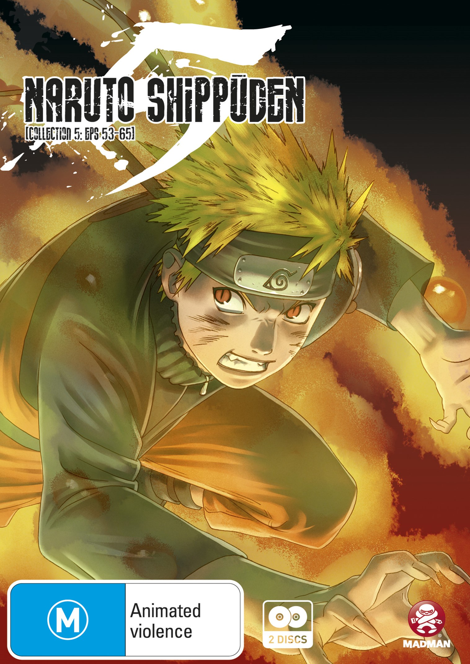 Naruto Shippuden: Collection 5 - Episodes 53 to 65