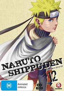 Naruto Shippuden Collection 12 (Eps 141-153) - Film & TV Animated