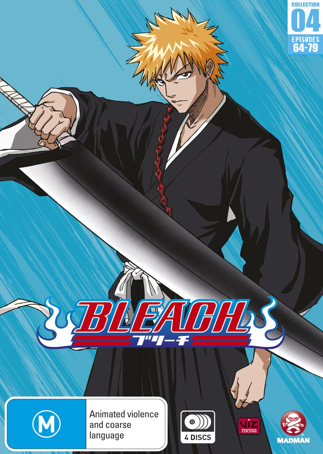 Bleach Collection 04 (Eps 64-79) (Season 4 Part 1)