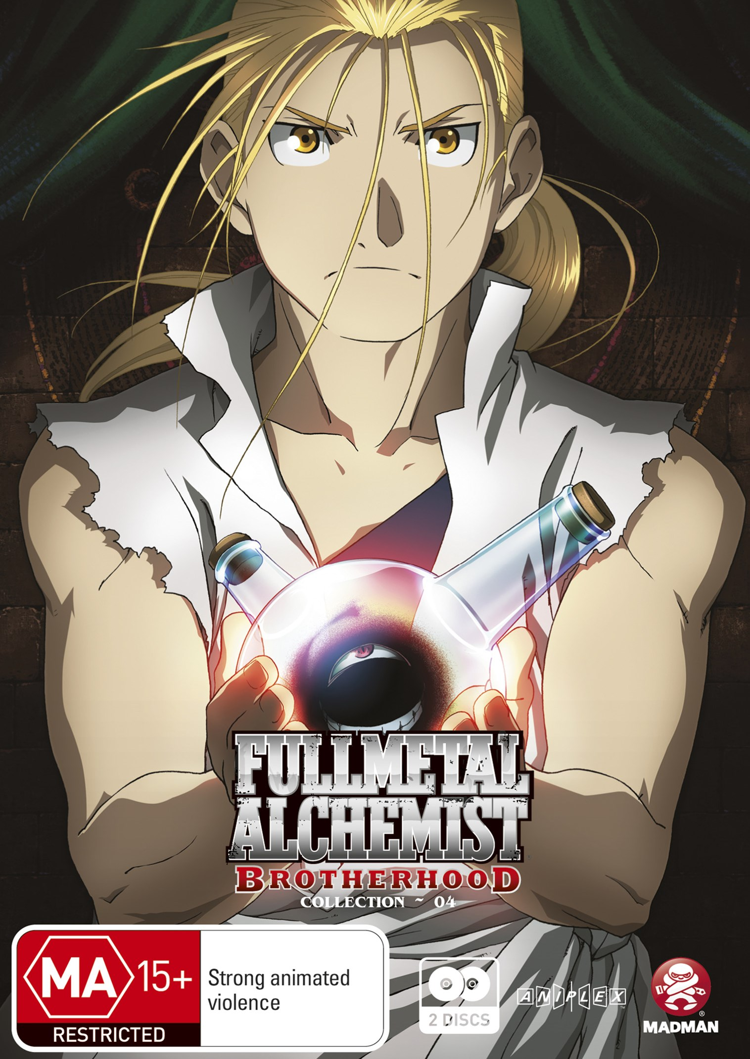 Fullmetal Alchemist: Brotherhood Collection 4 (Ep 40-52)